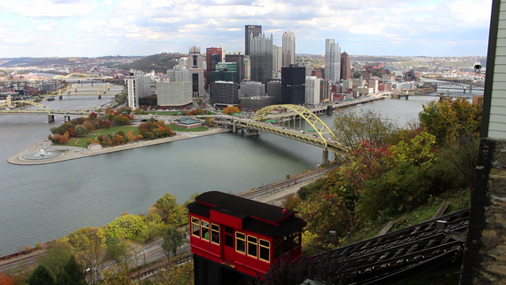 View from Duquesne Incline