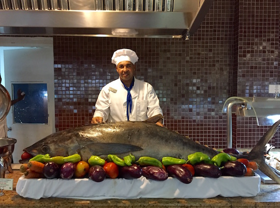 Fresh fish and so much more served up daily at Viva Wyndham V Heavens resort.