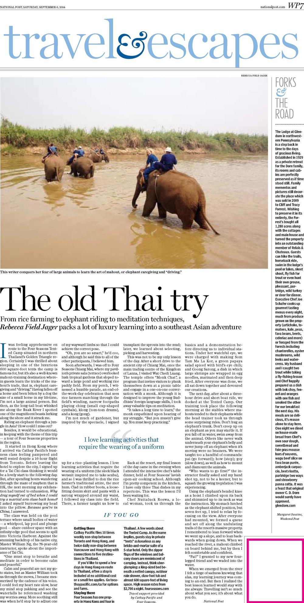 National Post - Sept 2014