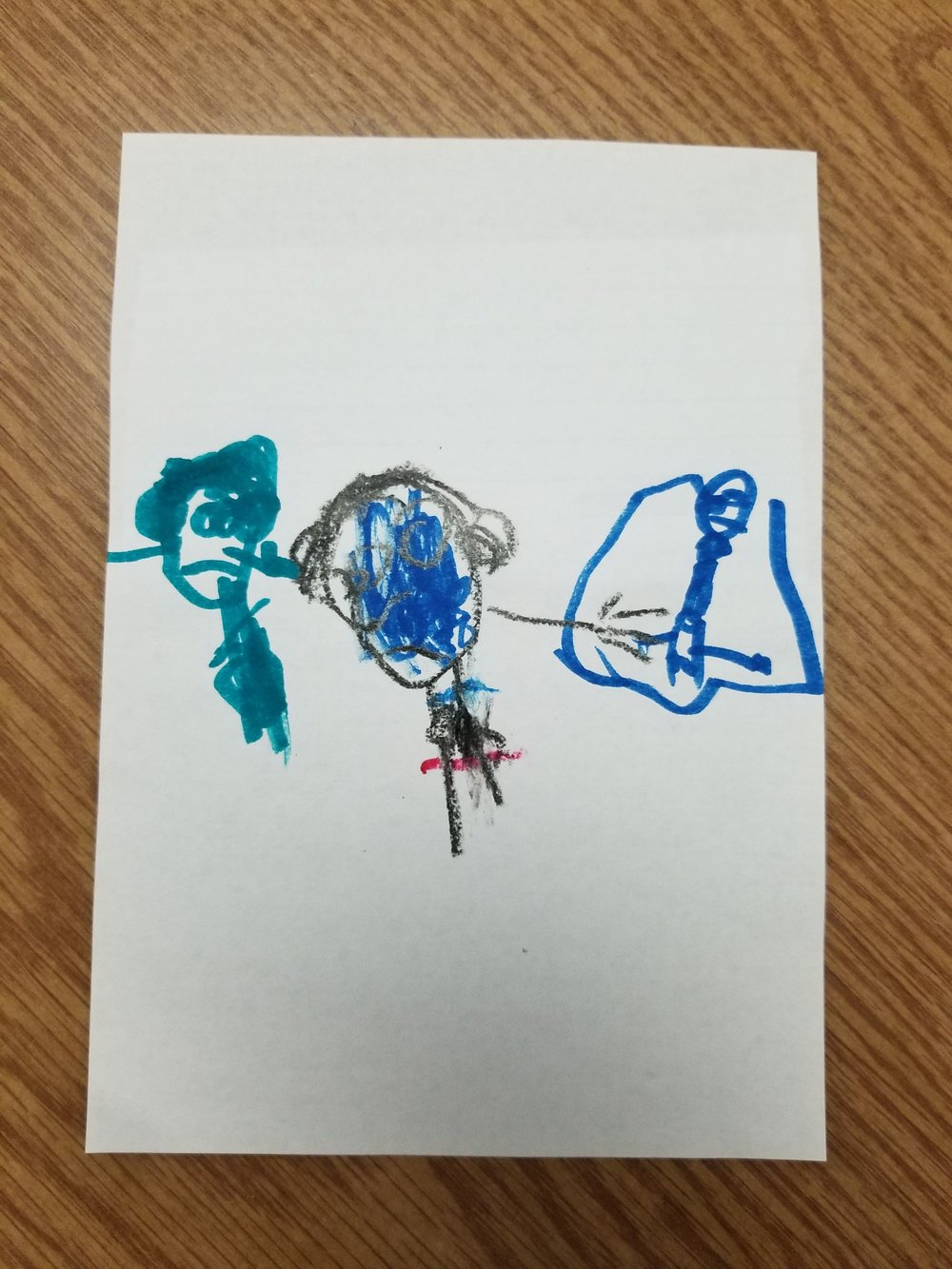 """Spiderman and Green Goblin"" chosen by Alexis James"