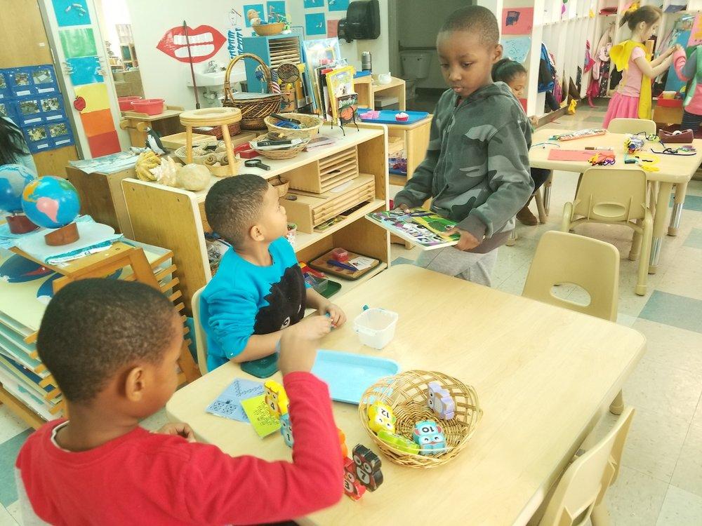 Kindergarten at MLK