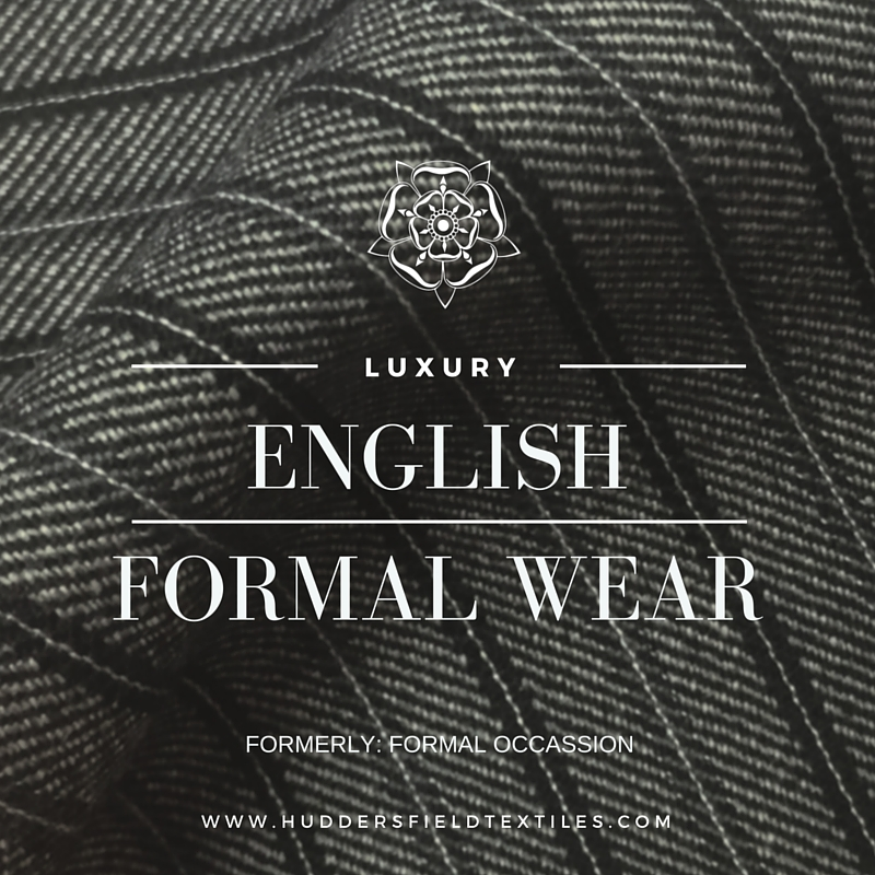 English Formal Wear