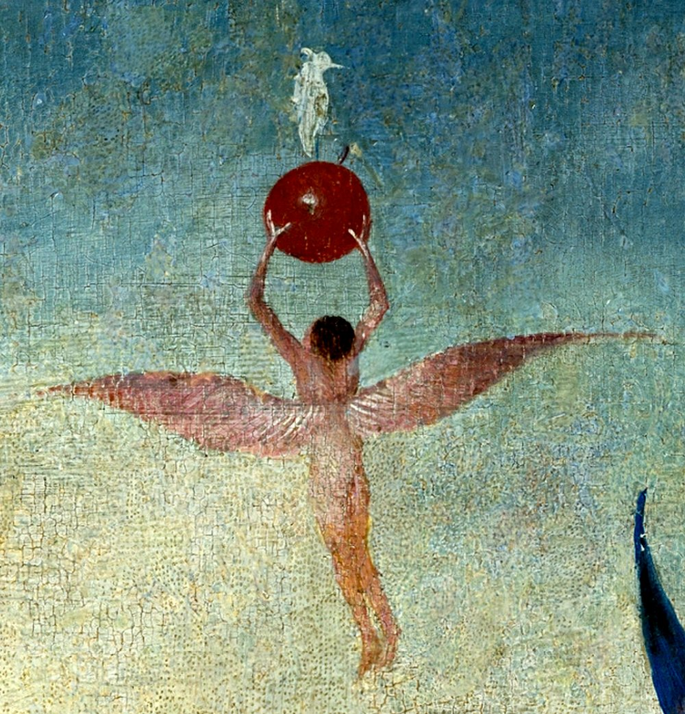 Bosch,_Hieronymus_-_The_Garden_of_Earthly_Delights,_central_panel_-_Detail_Winged_man_with_fruit_flies_to_heaven_(upper_right).jpg