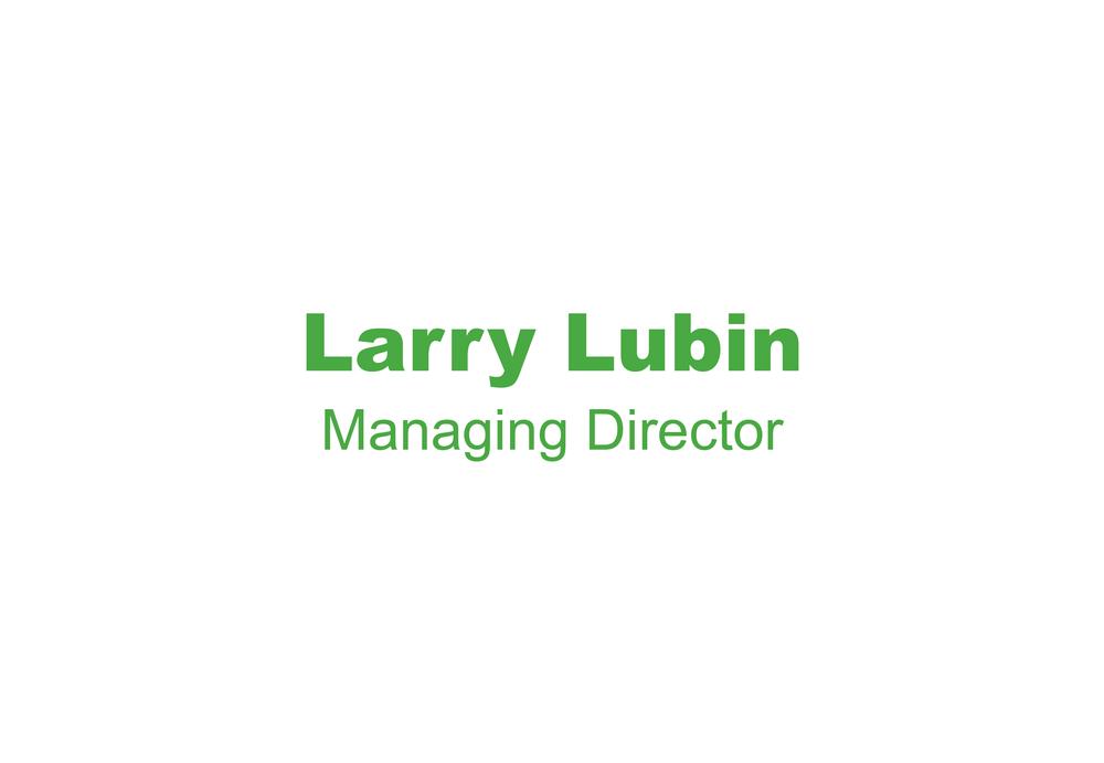 Larry Lubin Bio Picture