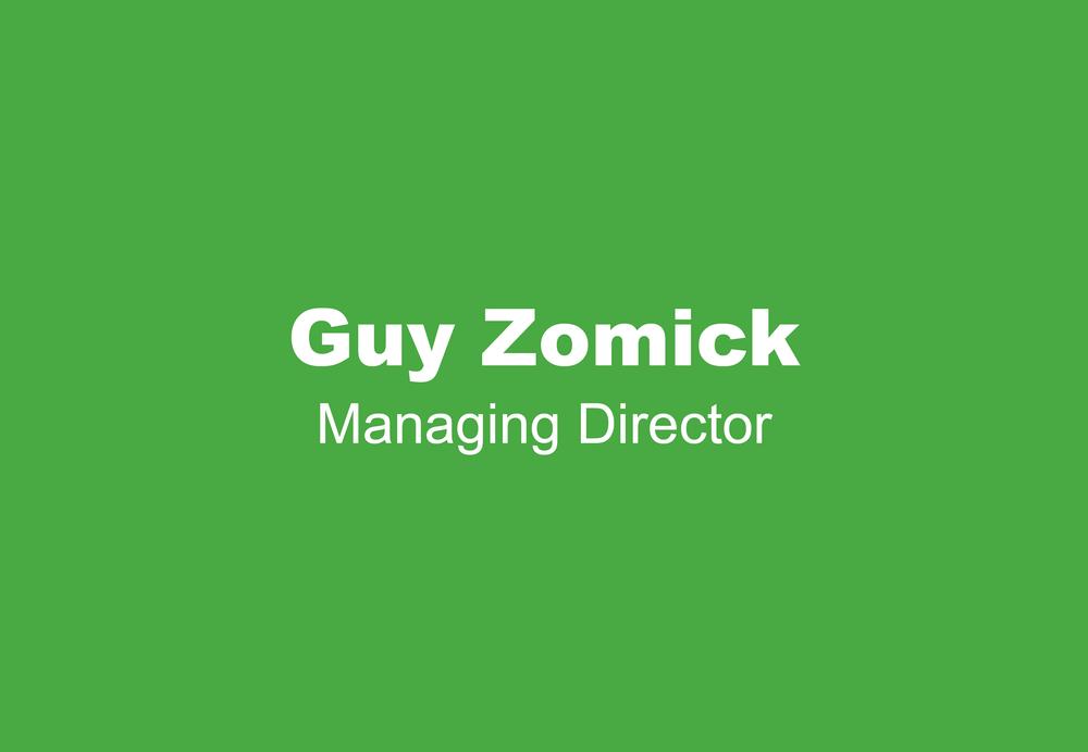 Guy Zomick Bio Picture