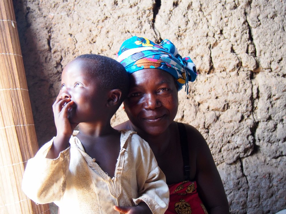 Humans Of Igbérè - Laurentine and her daughter, Léontine