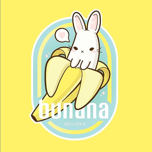 More buns! Expanding my product line on redbubble, trying to focus on tshirts and mugs 🍌🐰 #illustration #bunny #bunana #digitalart #design #graphicdesign #vector #fruit #designinspiration #graphicdesigncentral #graphicdesignblg #graphicroozane #illustree @illustree #picame #graphicdesigner #simplycooldesign #instagood #kawaii #sparkle #cute #forest #illustrator  #leaves #illustrator #labeldesign #adobe #nofilter