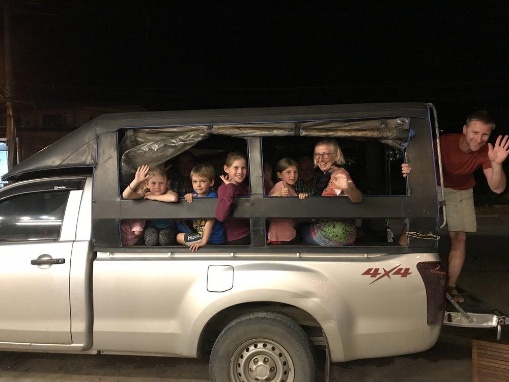 Notre limousine!