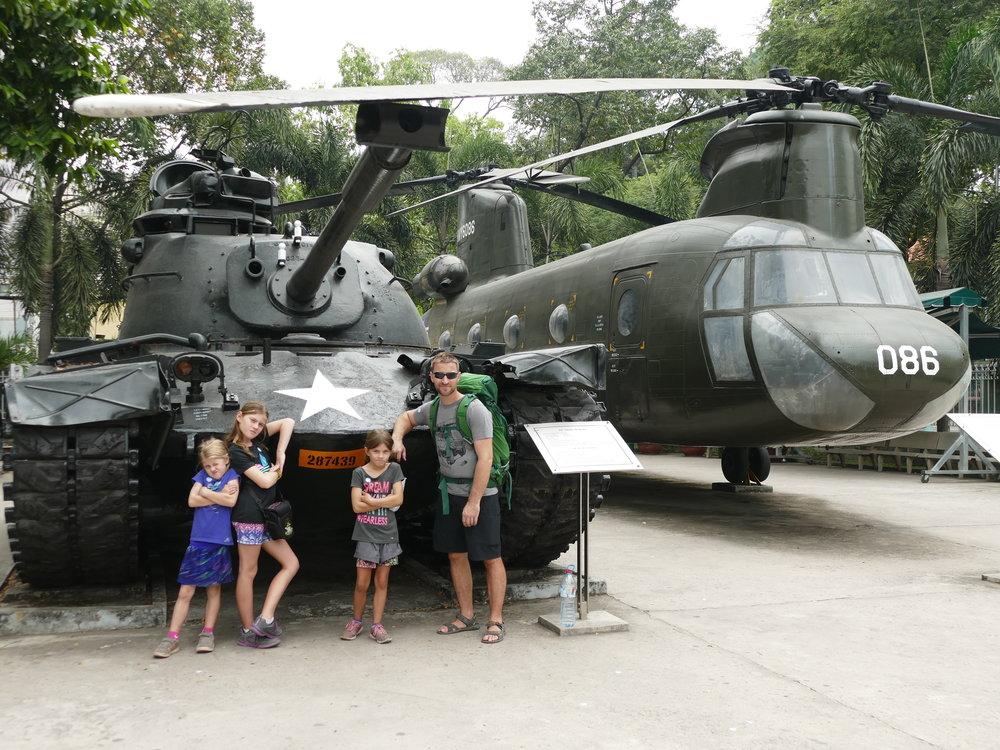 La visite de ce musée vous fera encore plus détester la guerre du Viet Nam... une vrai honte