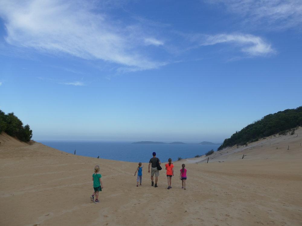 Ne pas manquer la dune de sable de Carlo Sandblow...