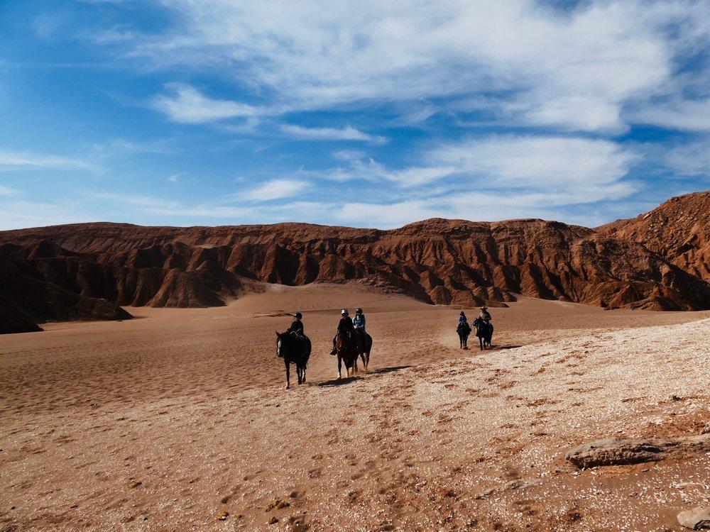 Faire du cheval sur la planète mars...