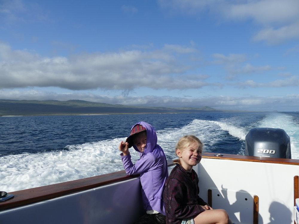 La meilleure façon de visiter l'archipel.. le bateau.