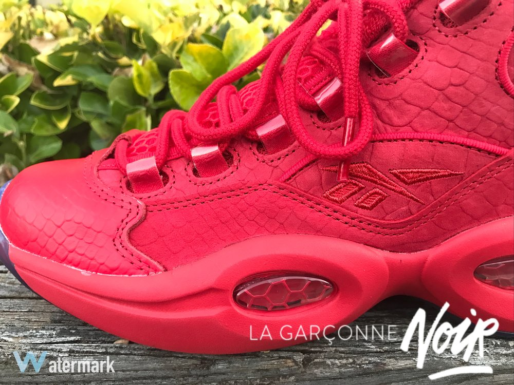 12b1f450550203 Feet Heat  Teyana Taylor x Reebok Question Mid — la garçonne noir ...