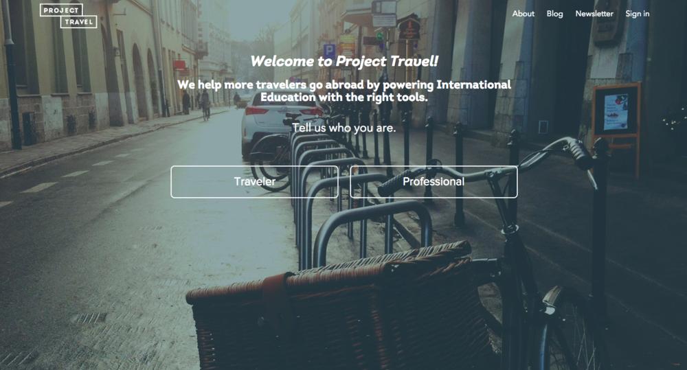 ProjectTravel