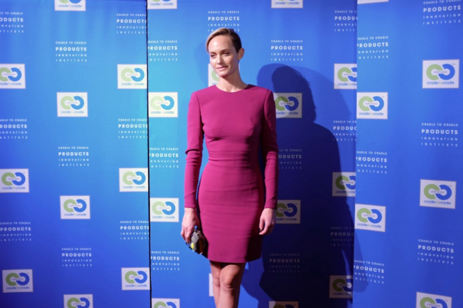 Model Amber Valletta, Fashion Positive, Cradle to Cradle Innovation Celebration