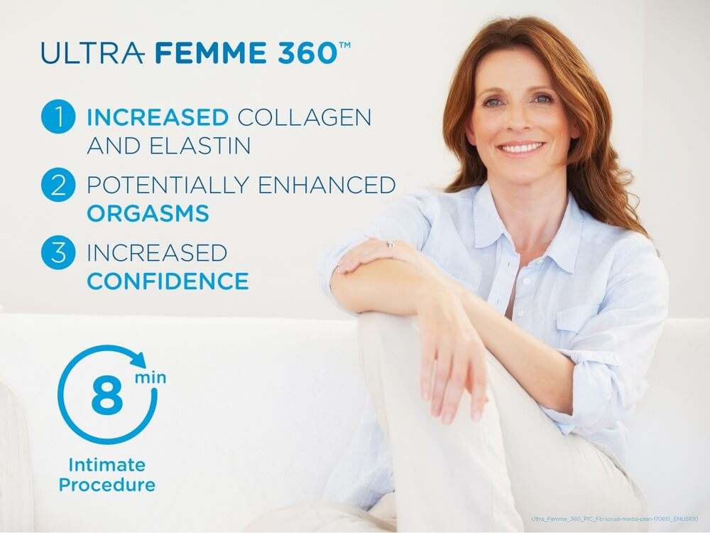 Vaginal Laser Rejuvenation with Ultra Femme 360