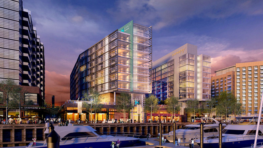 The Wharf Closes On 113 Million In Construction Financing