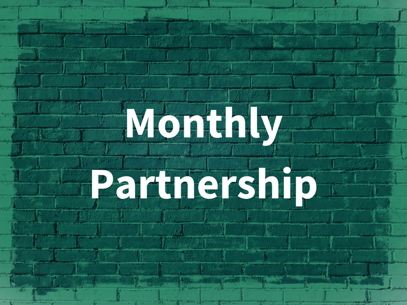 Monthly Partnership graphic