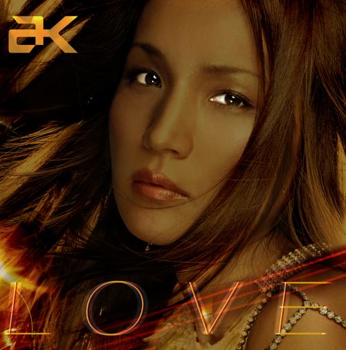 """AK Akemi Kakihara (柿原朱美) - Album """"LOVE"""""""