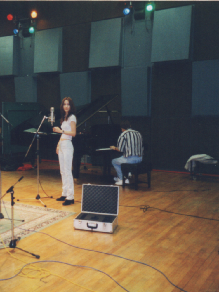 "AK Album ""YES"" recording in London 1998. Piano by Eumir Deodato."