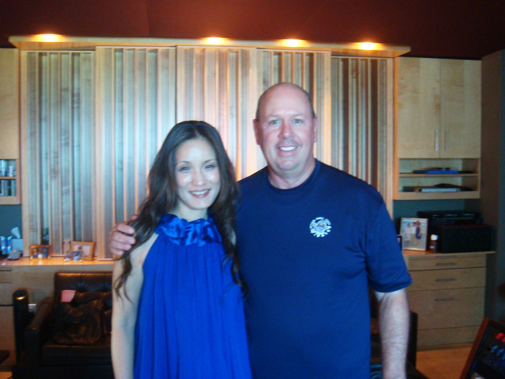 Legendary Grammy-winning mastering engineer, Tom Coyne & AK Akemi Kakihara