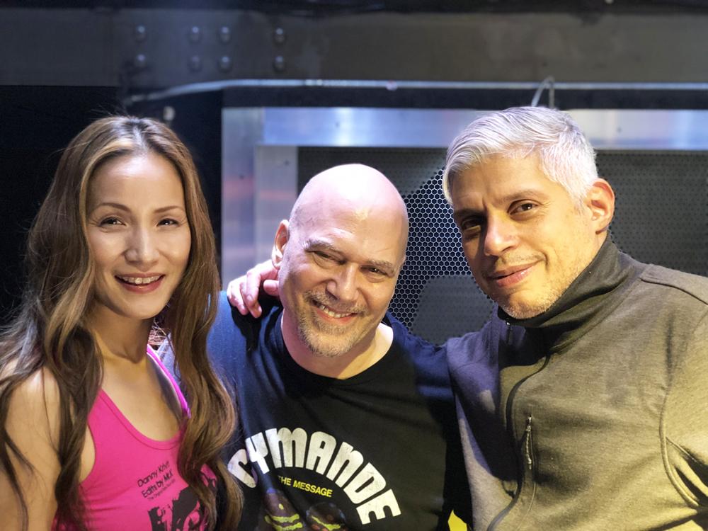 AK, Danny Krivit & Benny Soto (718 Sessions partner)