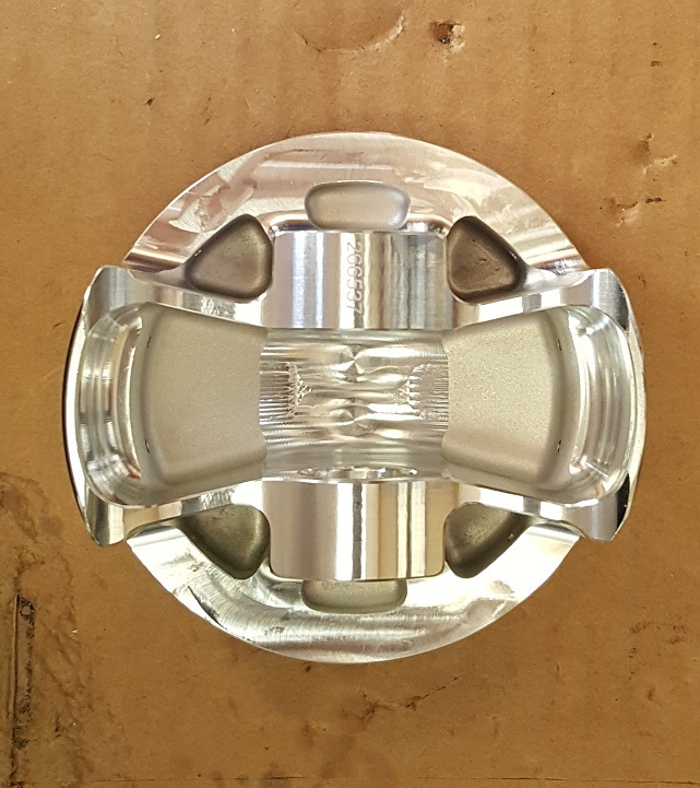 Underside of Piston