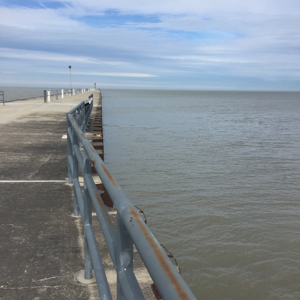 Lake Michigan - S 63rd Street Pier