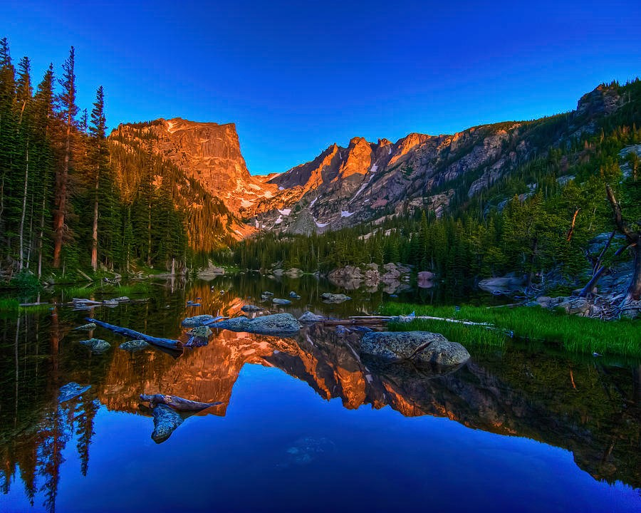 Stock photo of Dream Lake