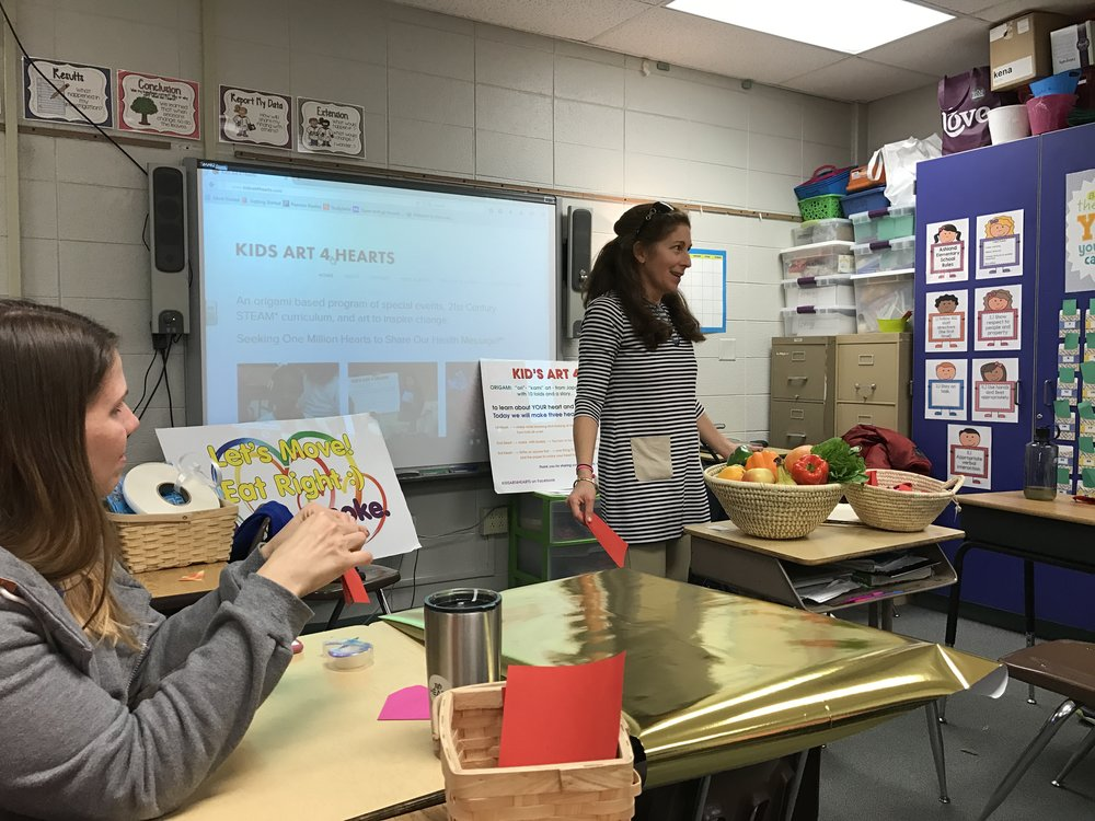 "PRIMARY GRADE TEACHER ""MAKE AND TAKE"" WORKSHOP IN FAYETTE COUNTY,  KENTUCKY, NOVEMBER, 2016"