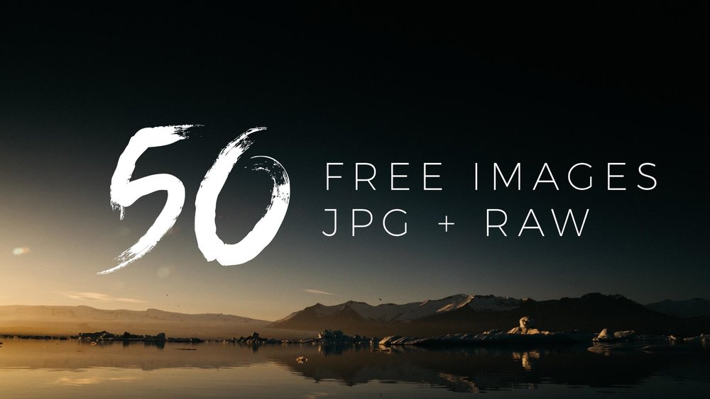 50 Raw Files for Free!