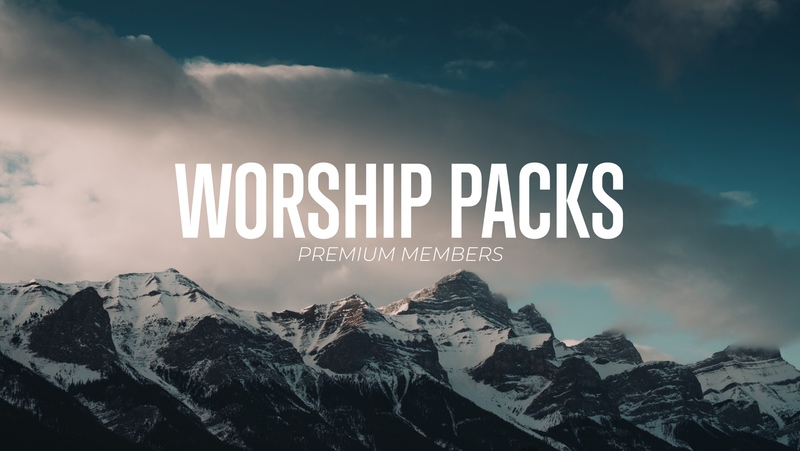 Worship Background Loops (Live Video + Motion Graphics)