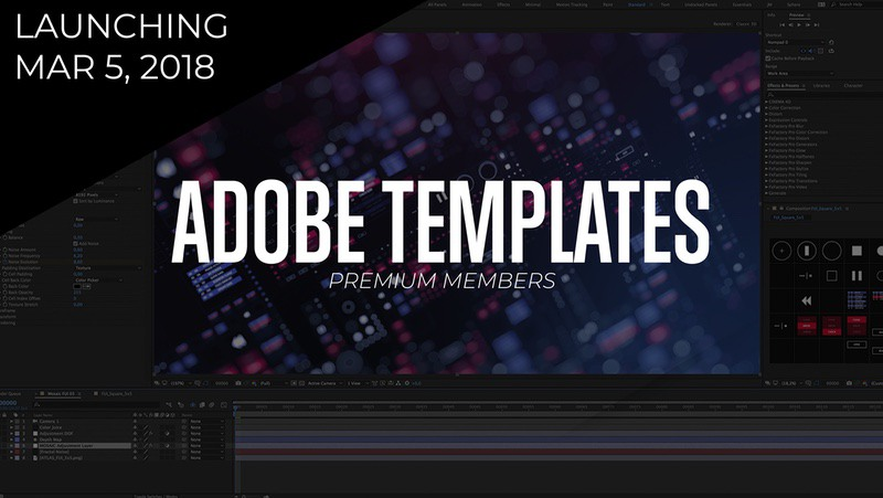 Adobe templates to help your graphics and video editors save time