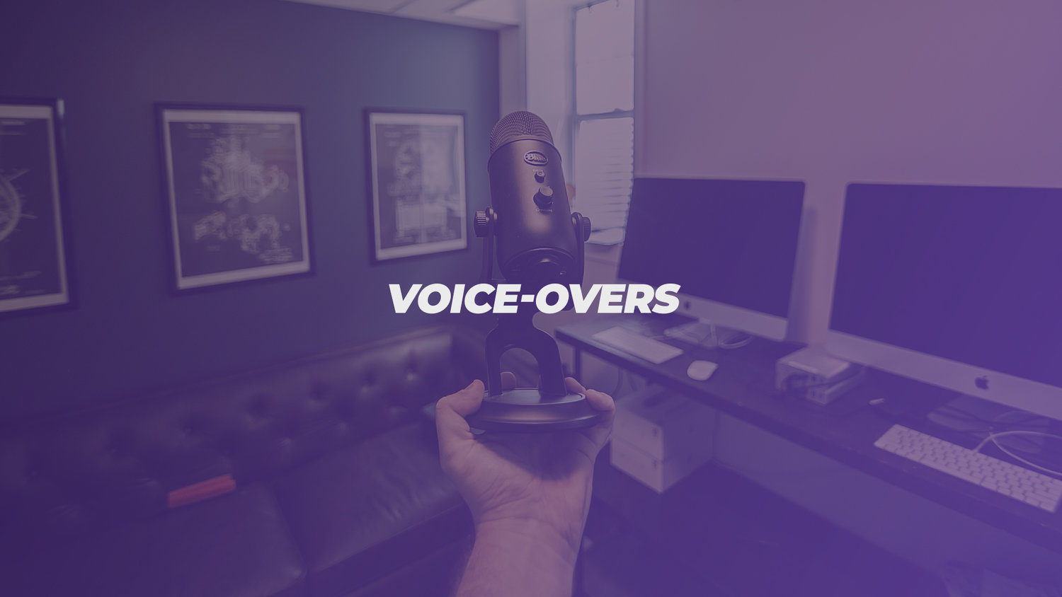 voice overs visual media church