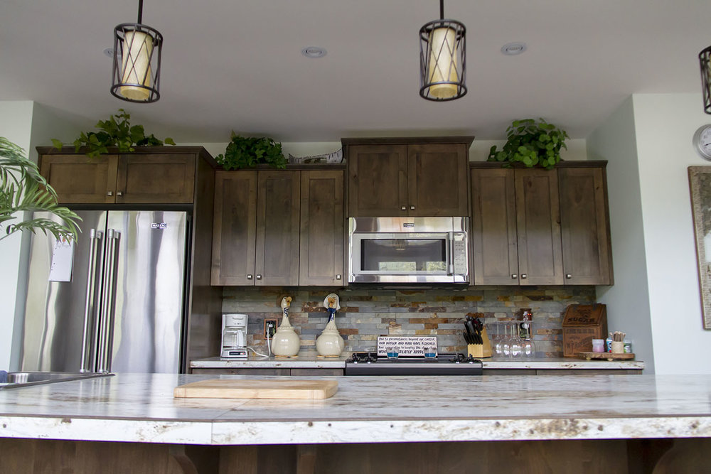 Kootenay Kitchen Trends (Rustic Country Style)