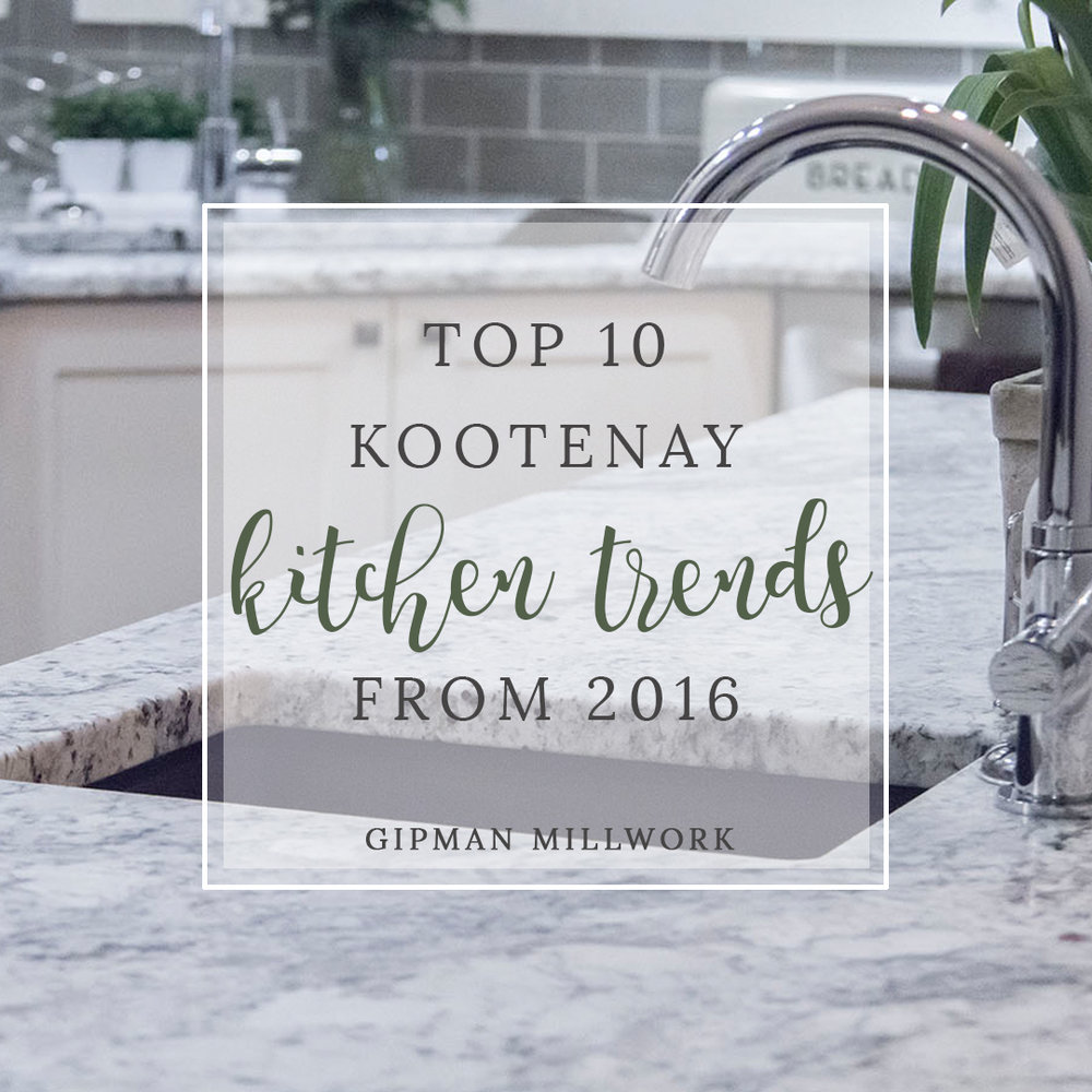 Top 10 Kootenay Kitchen Trends of 2016