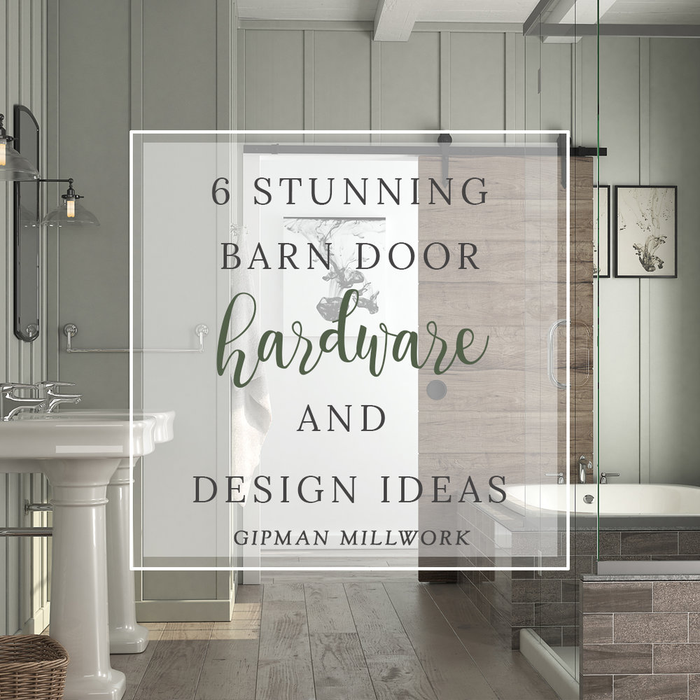 6 Stunning Barn Door Hardware and Design Ideas