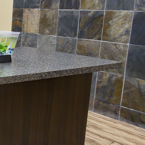 Square Edge Countertop