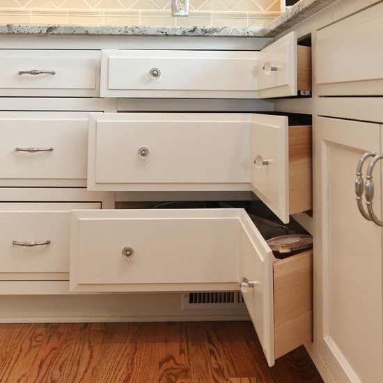 Corner Drawer Bank