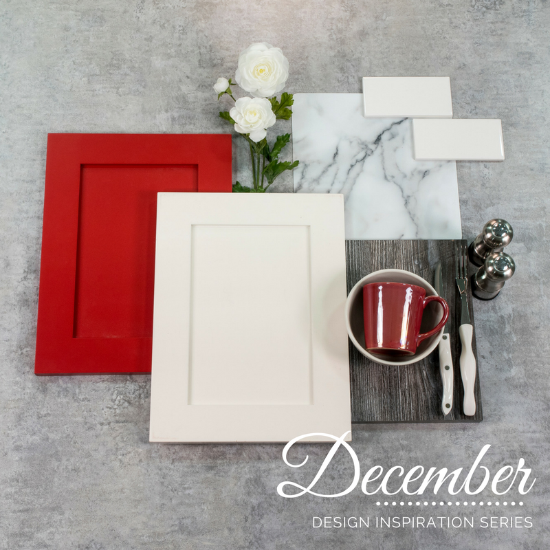 December Design Inspiration: Red Cabinetry