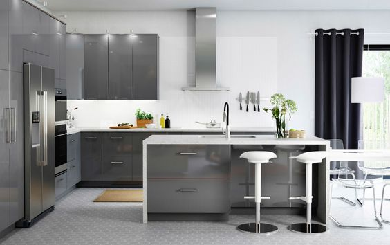 Ultra Modern - Try something ultra modern with high gloss cabinetry. Easy to clean with a stunning finish.