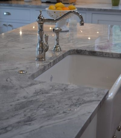 Countertops - If you have a well maintained kitchen, consider switching out your old countertops for a new gray option!
