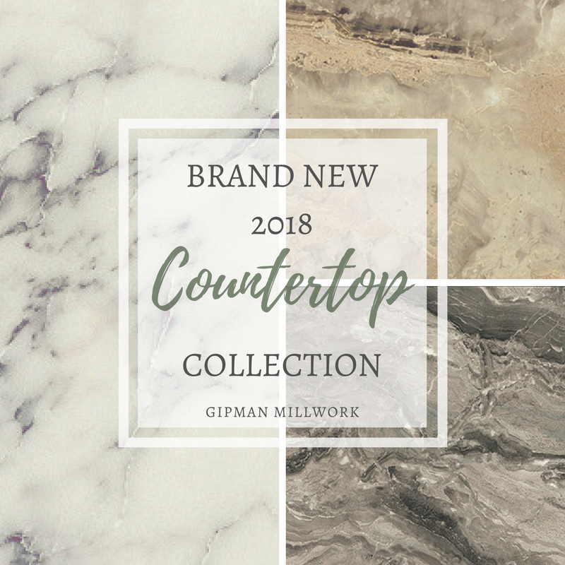 Brand New 2018 Countertop Collections