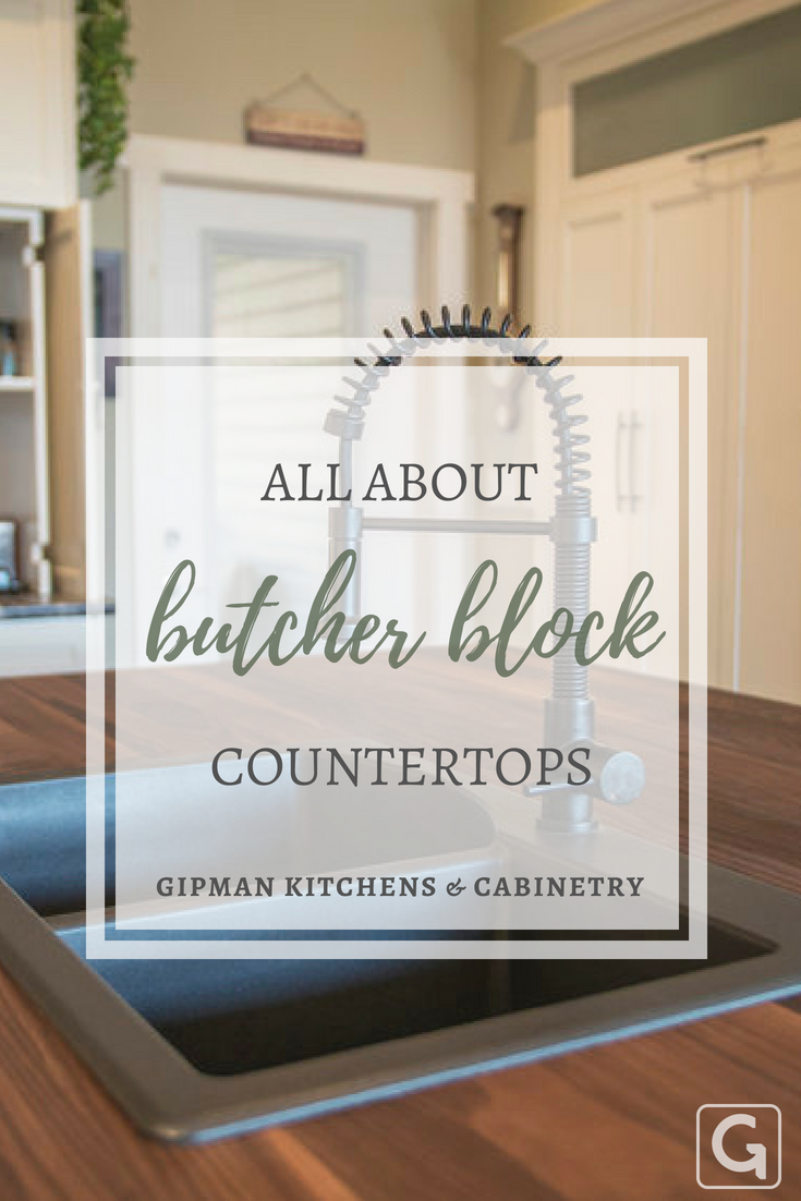 All about butcher block countertops