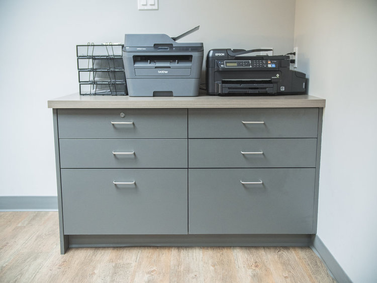Kootenay Life Dental Office Cabinetry