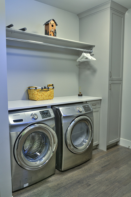 Invermere Laundry Room Cabinetry