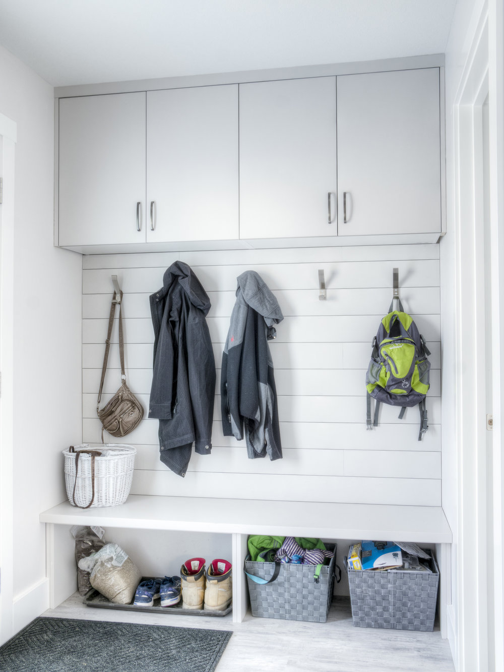 Built-in Mudroom