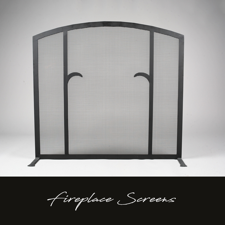 Hand-forged Fireplace Screens
