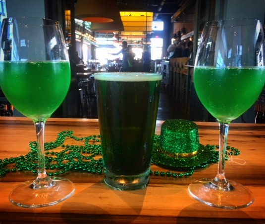 Come celebrate St. Patrick's Day with us!🍀 $3 Green beers all day 🍻 and green bottomless mimosas during brunch from 11 am - 3 pm 🥂#canvasmarketgoods #stpatricksday #greenbeer #greenmimosas #cheers