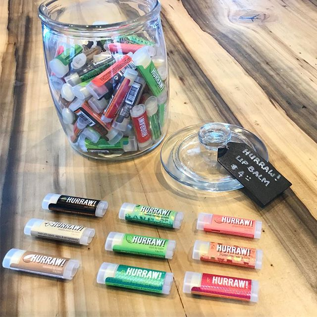What's your favorite flavor? @hurrawbalm is all natural and made from premium raw and organic ingredients #canvasmarketgoods #hurrawbalm #vegan #natural #organic